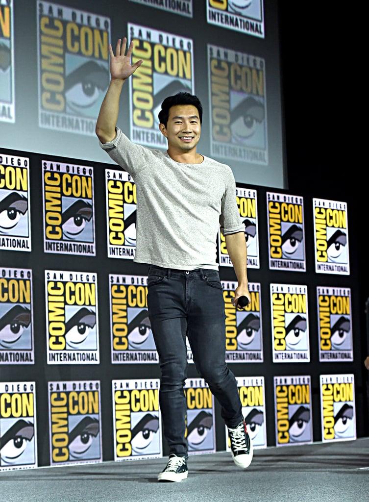 Pictured: Simu Liu at San Diego Comic-Con.