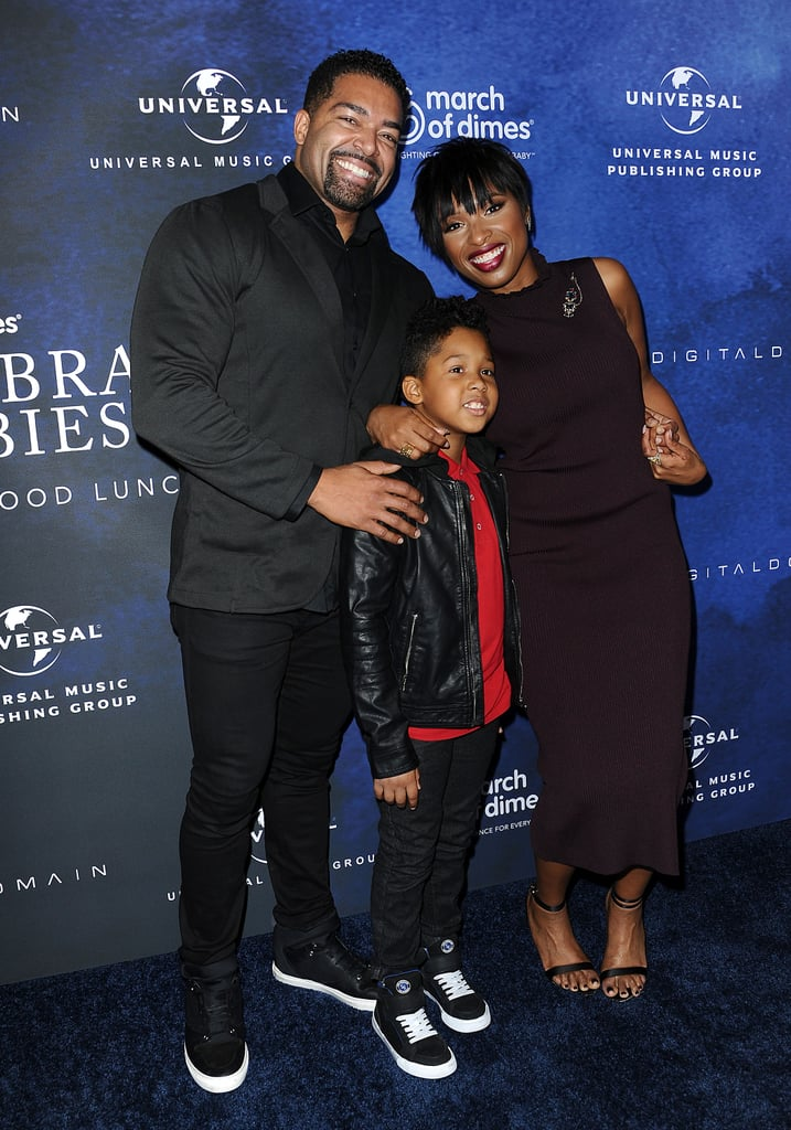"It was family day for Jennifer Hudson at the March of Dimes Celebration of Babies in LA on Friday afternoon. The singer was joined by fiancé David Otunga and their adorable 7-year-old son, David Jr., at the event, which also brought out pals Kelly Rowland and Nick Cannon. Jennifer stunned in a gorgeous plum dress and was honored inside with the Grace Kelly Award for her commitment to helping families and giving all babies the healthiest start in life.  Jennifer got emotional while accepting her award, telling the audience, ""I'm not a speaker, but I am a mother. It is so hard — no matter what you are going through in life — to be able to see from someone else's perspective . . . I'm so grateful for this opportunity because it taught me about premature births and what families go through. Going to the NICU (neonatal intensive care units) and seeing their situations . . . it just took my heart under and through."" Jennifer's latest appearance comes a week after she and David Jr. attended the LA premiere of Sing together.      Related:                                                                                                                                Hairspray Live!: Jennifer Hudson Singing ""I Know Where I've Been"" Is the 1 Performance You Need to See"