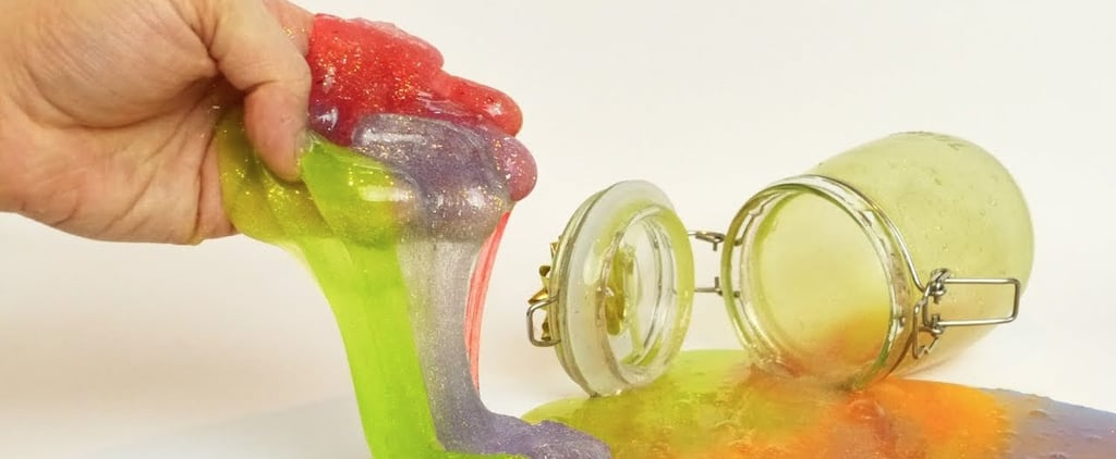 This DIY Glitter Rainbow Slime Is So Satisfying to Play With