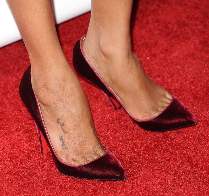 Mercedes Of Orlando >> Zoe Saldana   Celebrity Tattoo Pictures   POPSUGAR Celebrity Photo 61