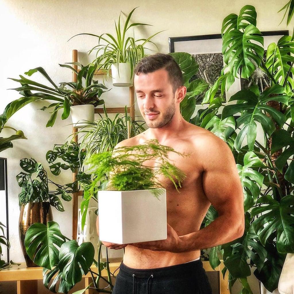 Hot Guy With Plants Instagram Account Popsugar Love Sex