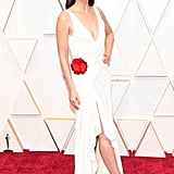 Lily Aldridge at the 2020 Oscars