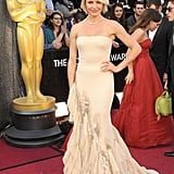 Cameron Diaz at the 2012 Oscars.