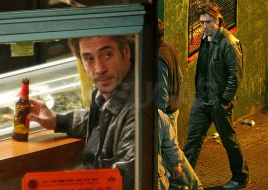 Javier Bardem Is the Sexiest Man Filming in Barcelona
