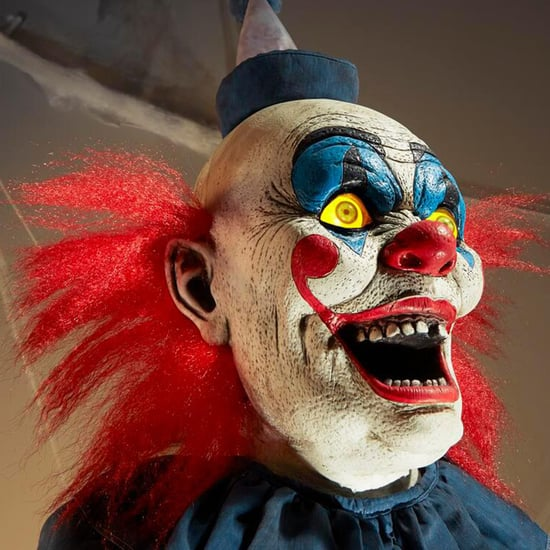 Home Depot's Creepy Life-Size Clown Decoration Is Terrifying