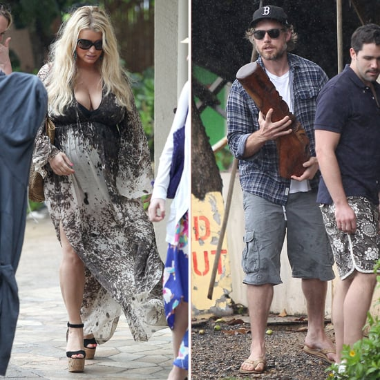 "Jessica Simpson Shows Skin in Hawaii and Talks ""Sophisticated"" Style"