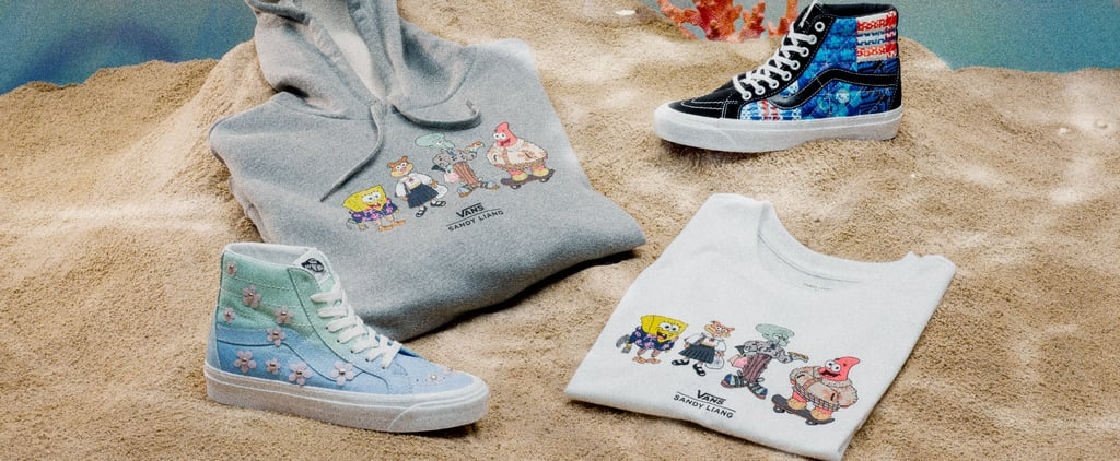 Vans and Sandy Liang's SpongeBob SquarePants Collection