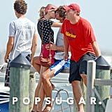Taylor Swift kissed Conor Kennedy.
