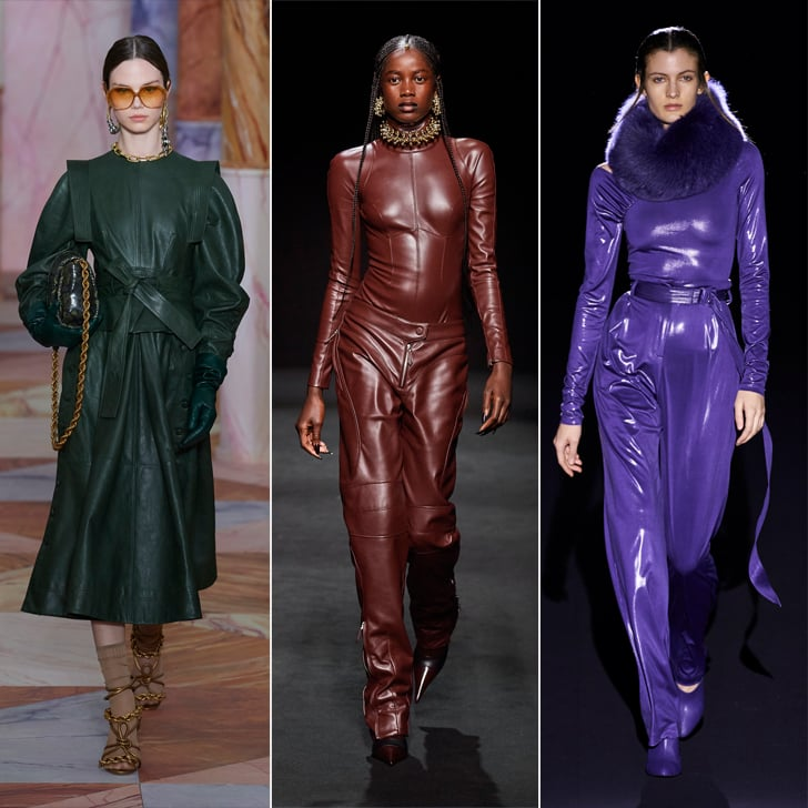 Fall Fashion Trends 2020: Colored Leather