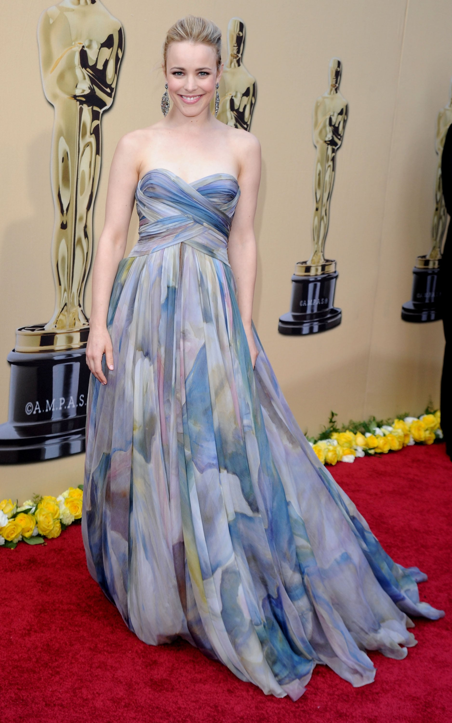 When She Was a Vision at the 2010 Oscars