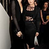 Cara Delevingne and Tallulah Harlech