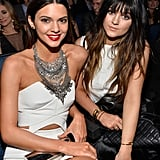 Kendall and Kylie Jenner attended the 2013 American Music Awards.