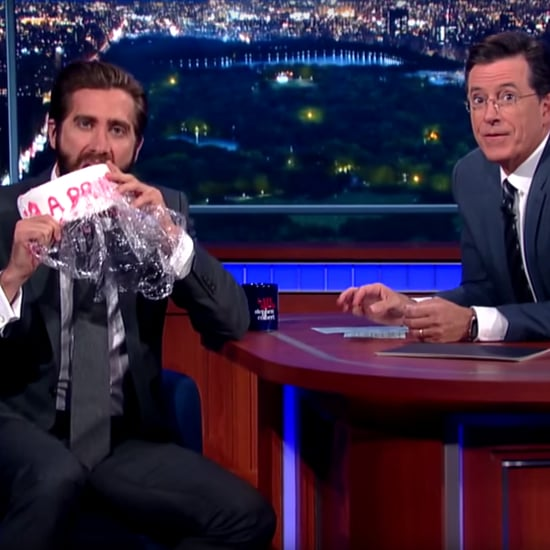 Jake Gyllenhaal Responds to Amy Schumer Cake Eating