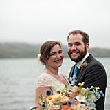 The Bride and Groom Are Head Over Heels at This Foggy Wedding Near the Bay