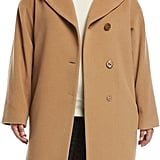Cinzia Rocca Plus Asymmetric Walker Coat