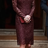 Kate wearing Dolce & Gabbana in October 2015.