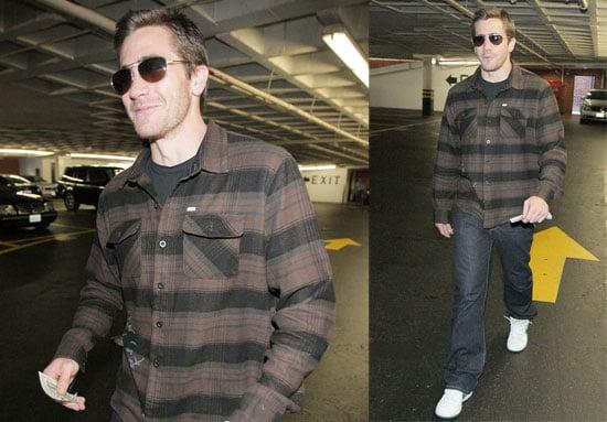 Jake Gyllenhaal Is Walking Tall