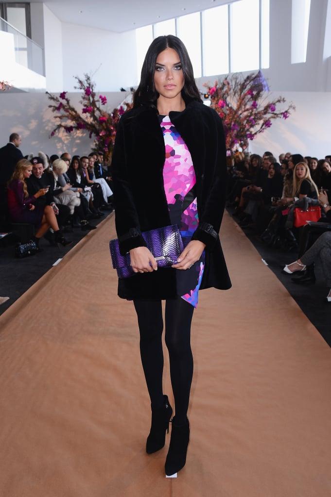 Adriana Lima at NYFW