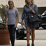 Reese Witherspoon went to pick up lunch in LA with Ava.
