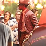 Ryan Gosling on Set For Gangster Squad Reshoots | Pictures