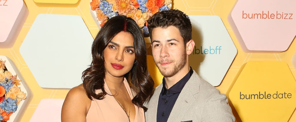 Priyanka Chopra's Peach Outfit at Bumble Event After Wedding
