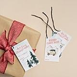 Magnolia Holiday Gift Tag Set ($12)
