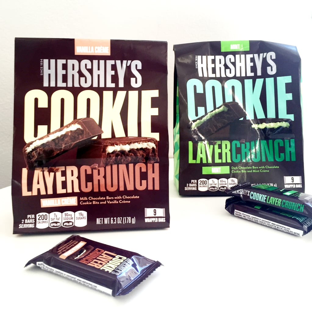 Hershey's Cookie Layer Crunch in Mint and Vanilla Creme