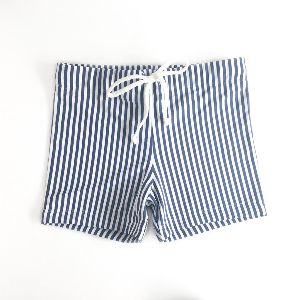 The Bathers Company Big Boys Swimming Trunks in Navy ($44.00)