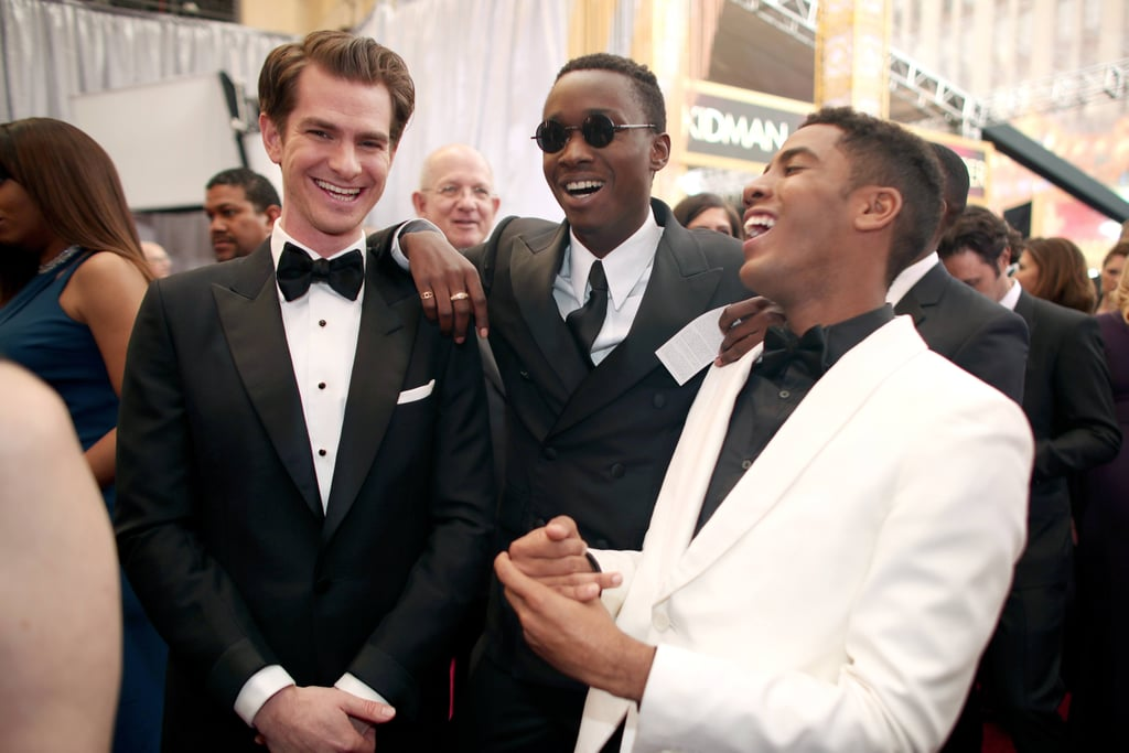 Andrew Garfield at the 2017 Oscars