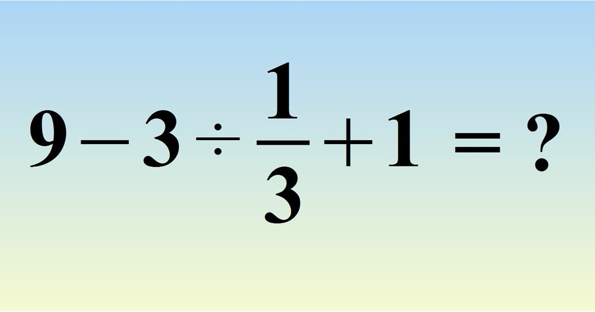 This Math Problem Will Make You Question Everything You Ever Knew About Algebra