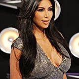 Kim Kardashian Makes a Sexy Statement at Her First MTV VMAs