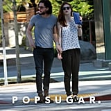 Kit Harington and Rose Leslie Go on a Sweet Morning Stroll Through LA