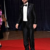 Paul Rudd walked the red carpet at the White House Correspondant's Dinner.