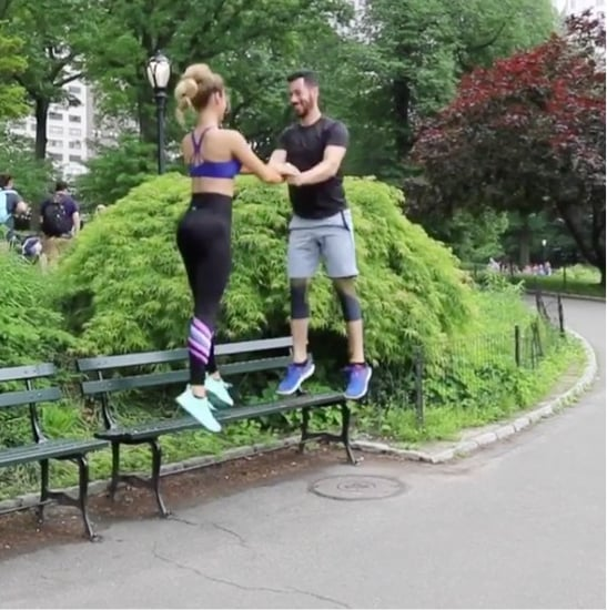 Outdoor Partner Workout Video