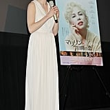 Michelle Williams talked My Week With Marilyn in Japan.