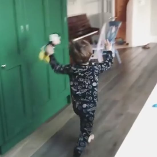 Toddler Finds Out He's Going to Disney