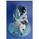 A Towering Frozen Cake