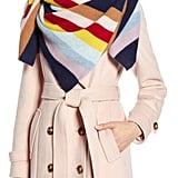 Halogen® x Atlantic-Pacific Stripe Cashmere Blanket Scarf
