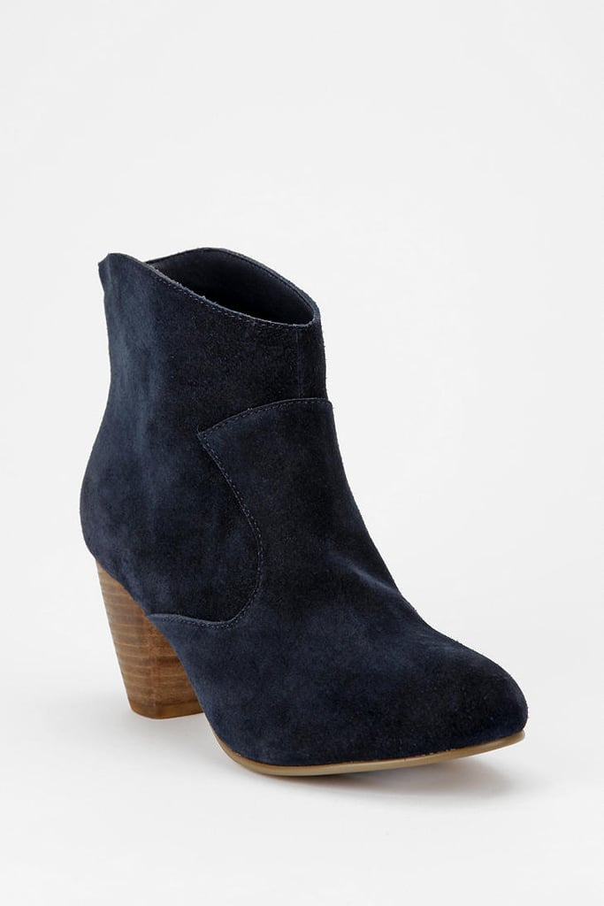 These navy Ecote Alexandra Suede Ankle Boots ($69) are perfect! They're stylish, accessible, and chic — but the best part is that they're affordable!   -– Colleen Doyle, editorial intern
