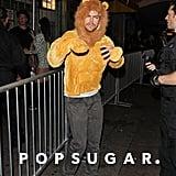 Derek Hough as a Lion