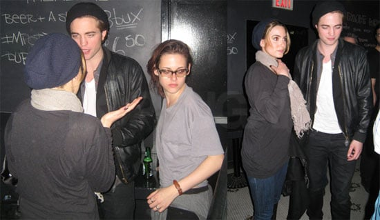 Photos of Twilight's Robert Pattinson, Kristen Stewart, and Nikki Reed at a Sage and the Dills Concert in Vancouver