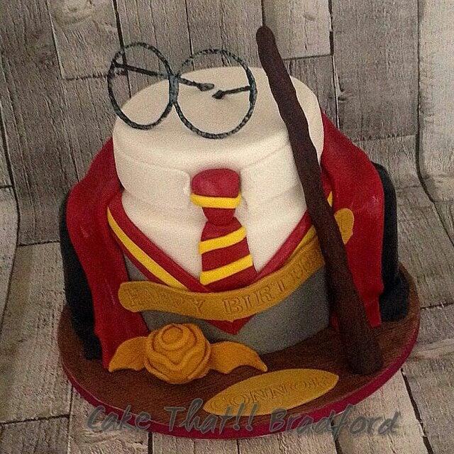 83 Happy Birthday Cake Harry Potter