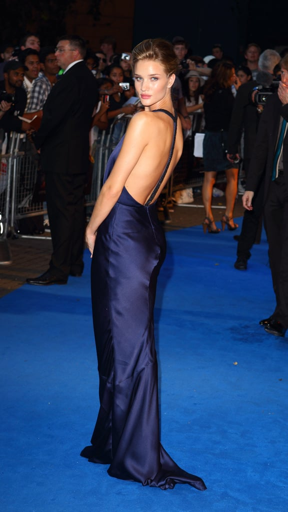 Rosie Huntington-Whiteley gorgeous at a Transformers: Dark of the Moon premiere in London.