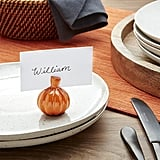 Pumpkin Place Card Holder ($4)