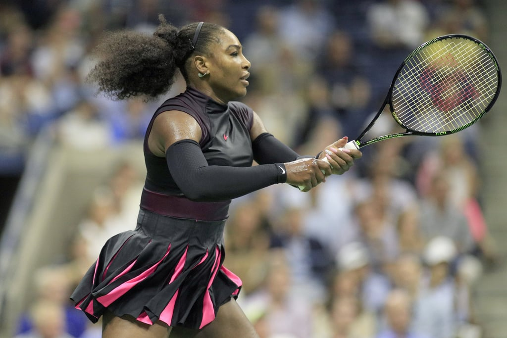 Serena Williams Did It Again in Black and Pink