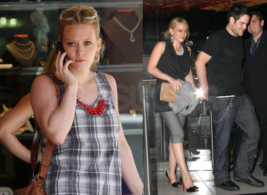Photos of Hilary Duff Out With Mike Comie at Katsuya