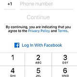 Sign up with Messenger without a Facebook account.