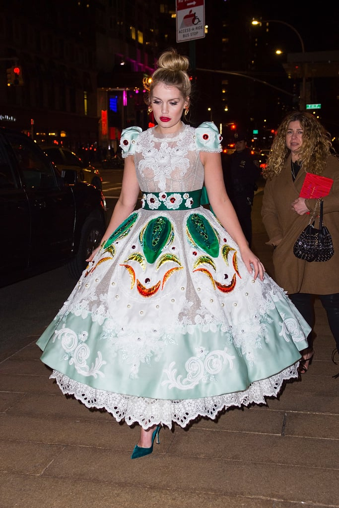 Kitty looked like a Disney princess in a Dolce & Gabbana gown ...