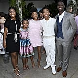 Asante Blackk and the Cast of This Is Us at the BAFTA Los Angeles and BBC Tea Party