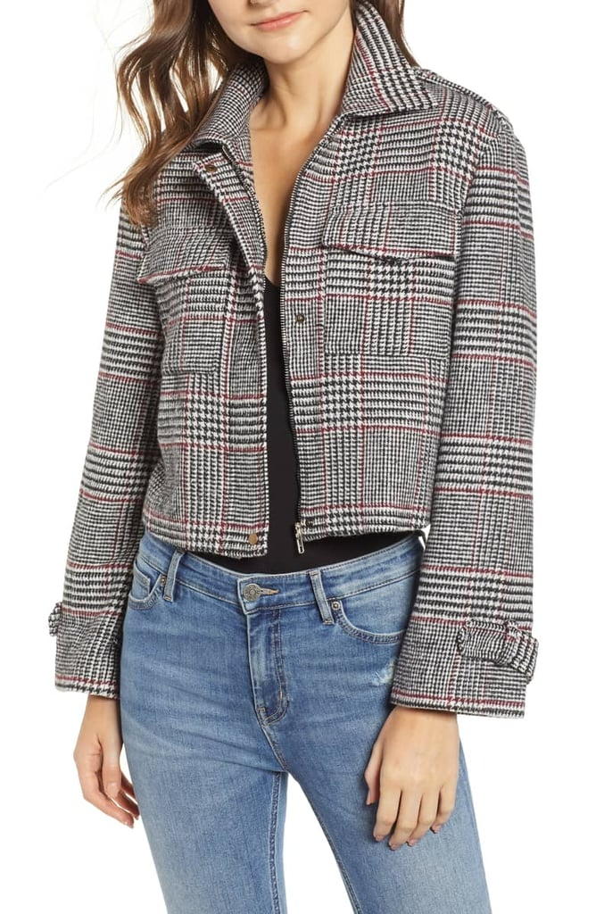 ed5092ad3f Bishop + Young Houndstooth Plaid Jacket